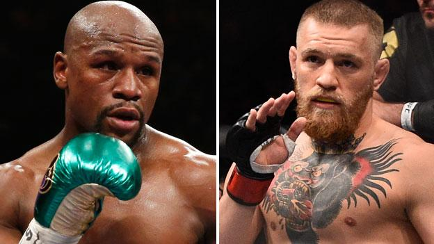 McGregor states he has signed his part of the contract and is awaiting Mayweather's signature