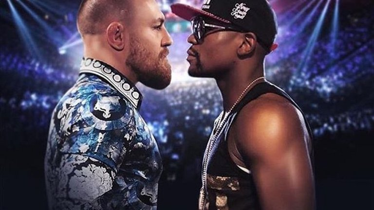 Mcgregor vs Mayweather almost done