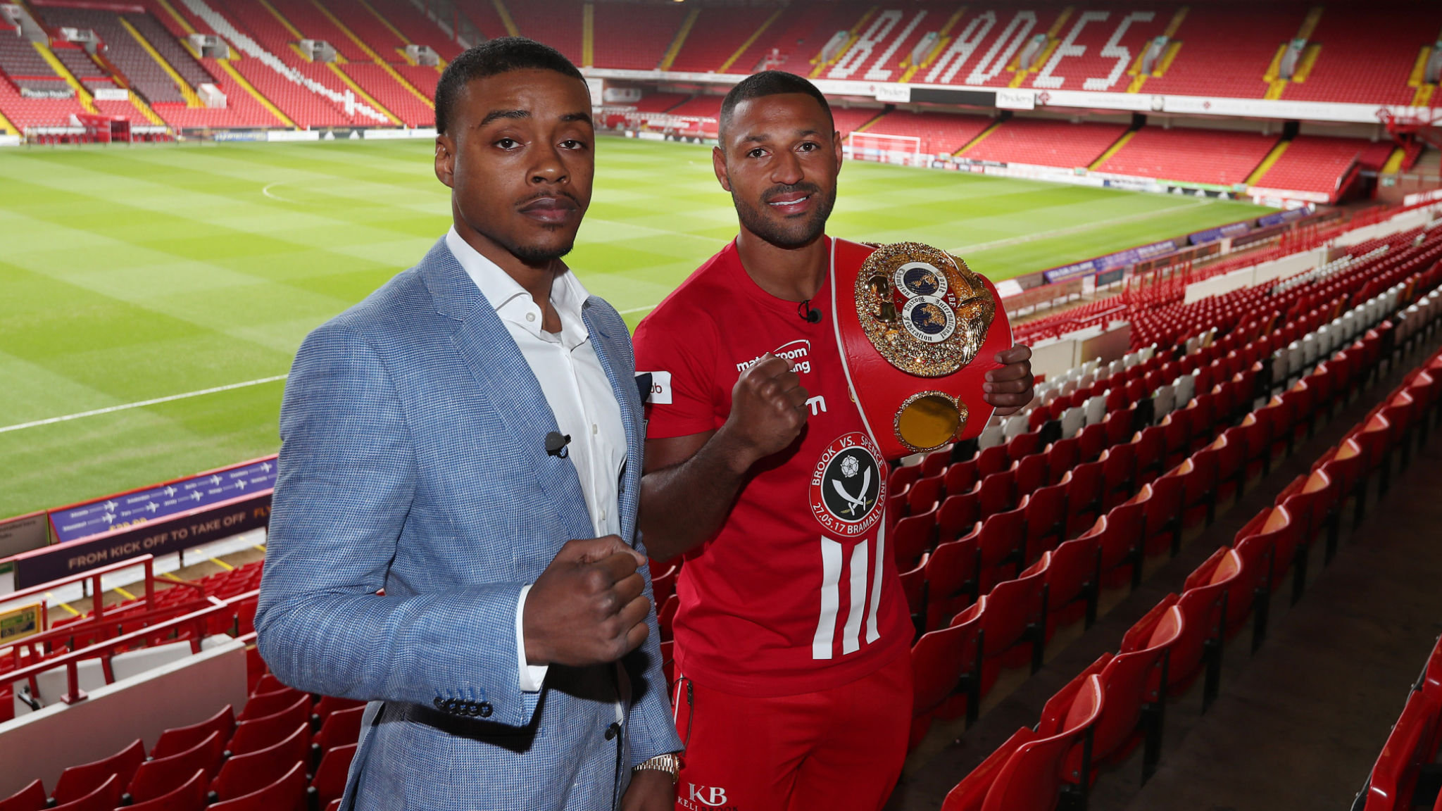 Spence vs Brook at Bramall Lane, Sheffield