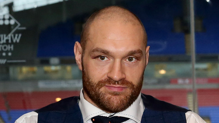 Tyson Fury will have to resolve his case with UKAD before returning to the ring