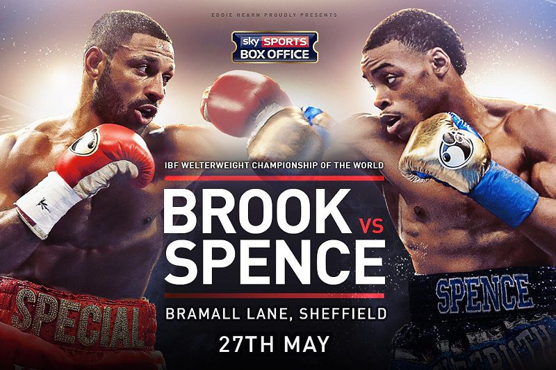 Kell Brook vs Eroll Spence