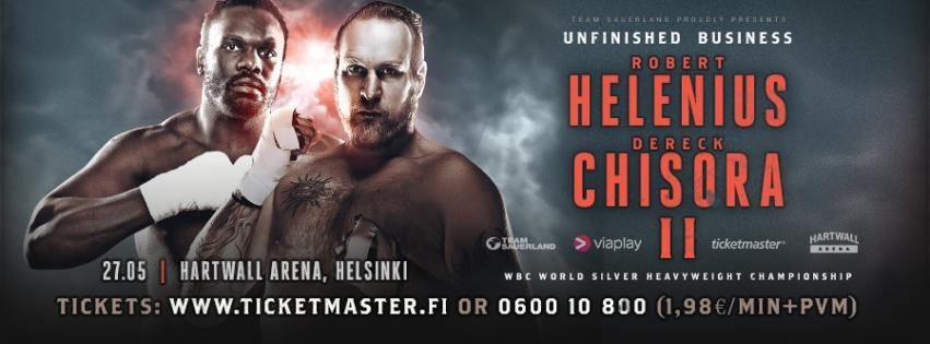 Chisora vs Helenius postponed till after summer