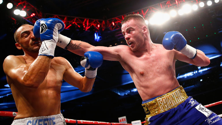 Frankie Gavin after defeating Skeete in 2014 Photo Credit: skysports.com