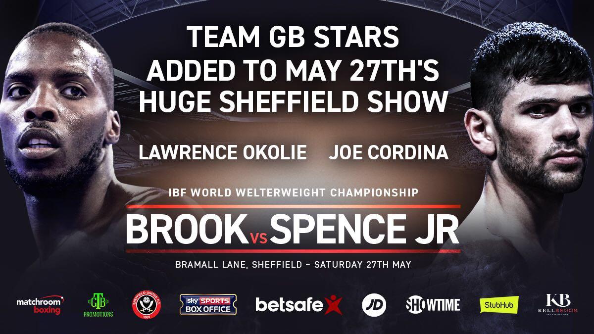 Brook vs Spence 27th May