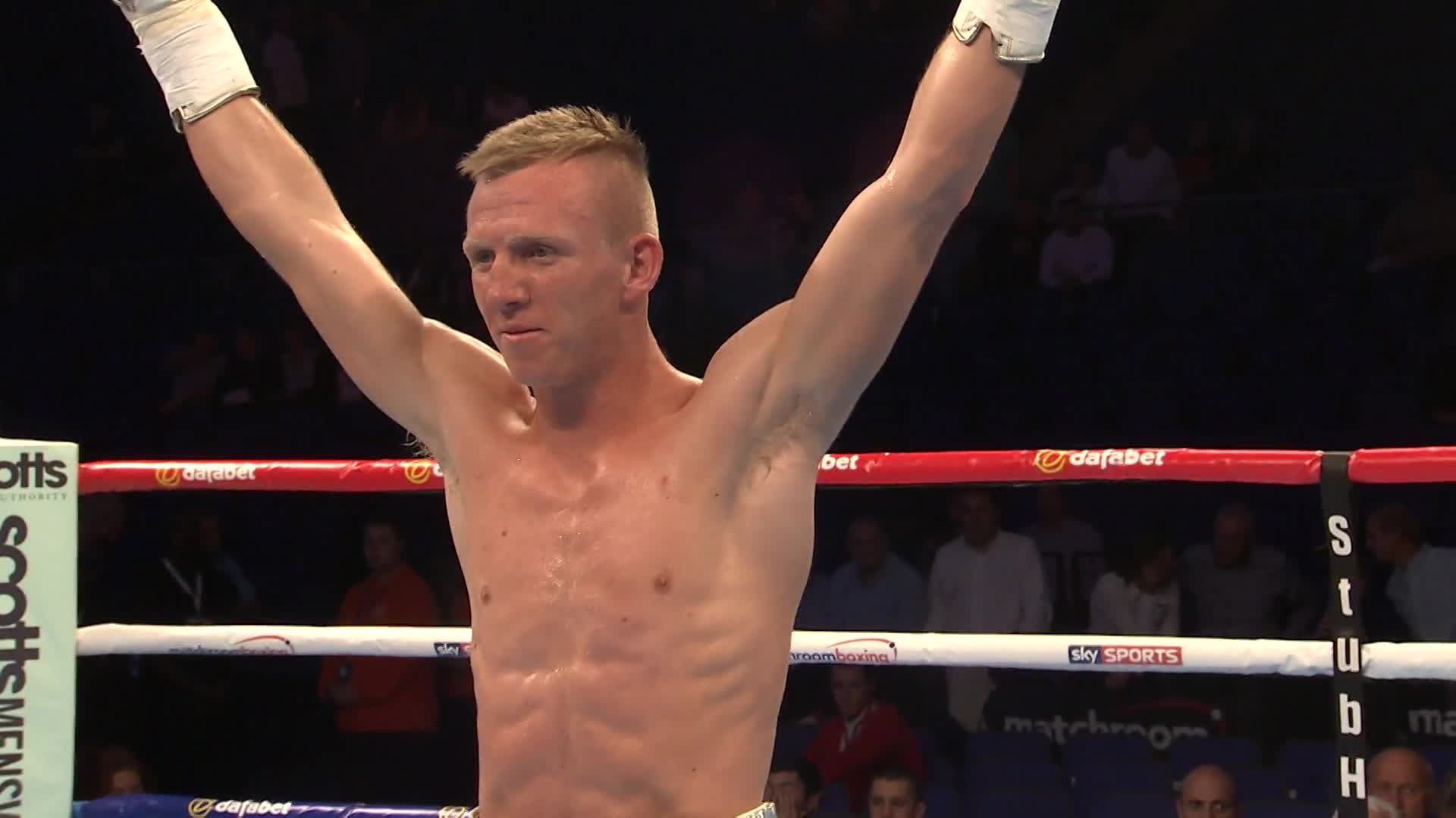 Ted Cheeseman wants to be the no.1 super welterweight champion