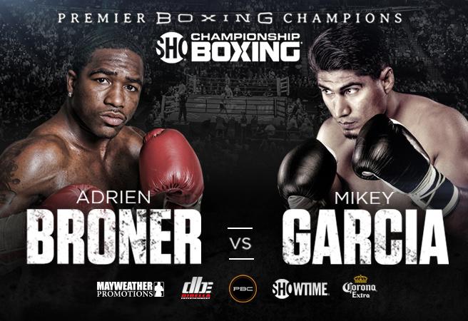 Image result for Broner vs. Garcia