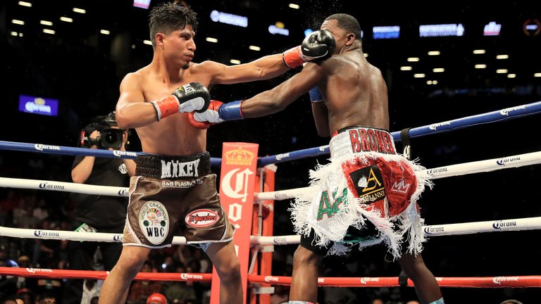 Mikey Garcia and Adrien Broner are two potential opponents that Haney is looking at in the future. Photo Credit: skysports.com