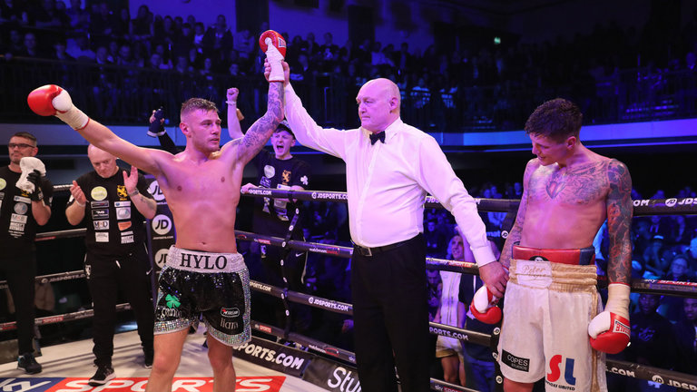 Hyland Jr to take on Ormond for IBF European Lightweight Title in Belfast