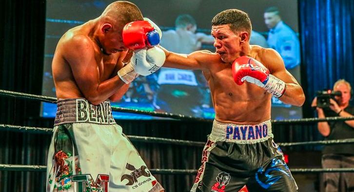 Payano impresses in win over Santiago / Miller defeats Herring