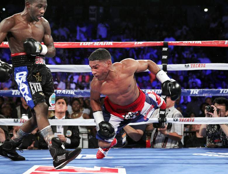 Crawford defeated Gamboa by KO in the 9th Photo Credit: Chris Farina – Top Rank