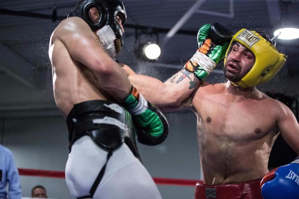 Paulie Malignaggi & Conor McGregor exchange blows in a 'violent' spa session