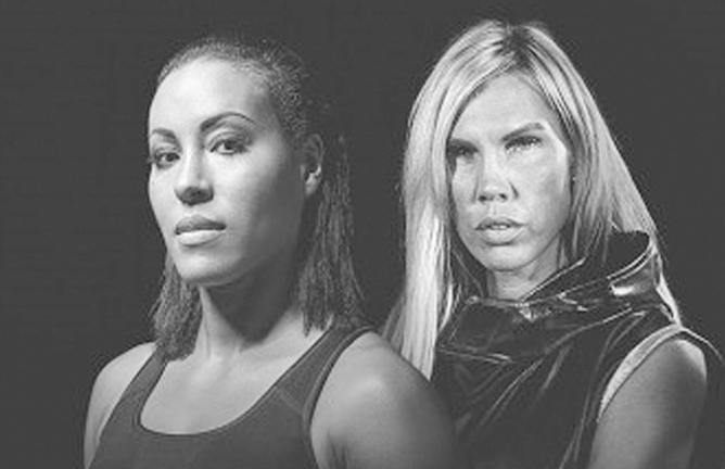 Mikaela-Lauren-vs-Cecilia-Braekhus--World-Welterweight-titles-clash