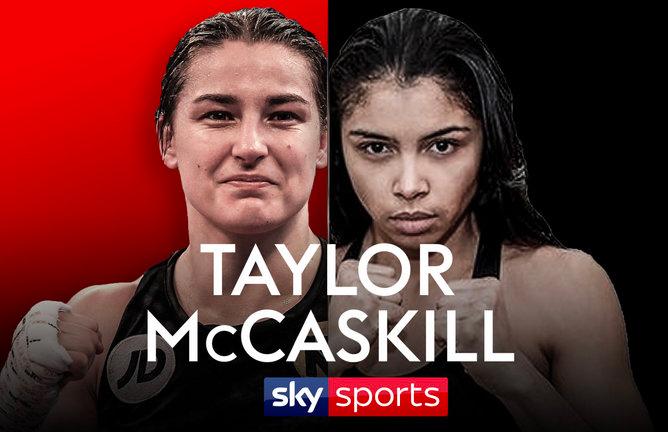 Taylor vs McCaskill Sky Sports