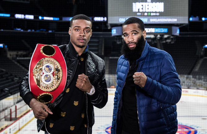 Errol Spence vs Lamont Peterson
