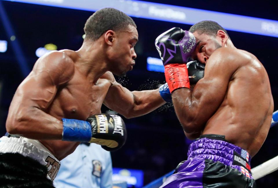 Spence Jr. landed some tough shots from the get go on Peterson.