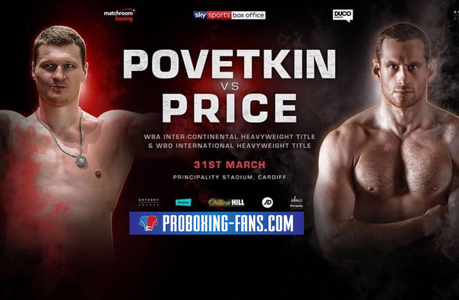Povetkin Vs Price announced on a impressive Undercard for Joshua-Parker
