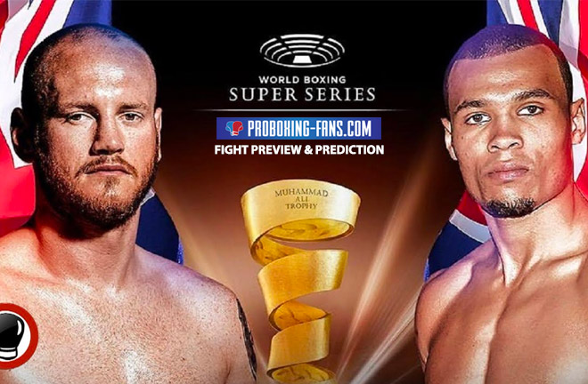 George Groves Vs Chris Eubank Jr, Saturday 17th February 2018, Manchester England