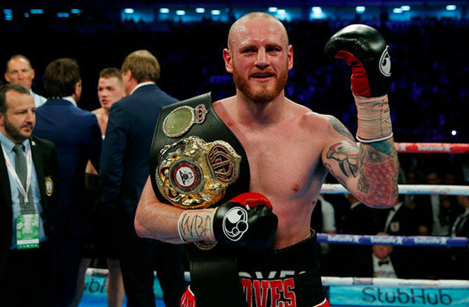 George Groves became a world champion after beating Fedor Chudinov. Photo Credit: Daily St