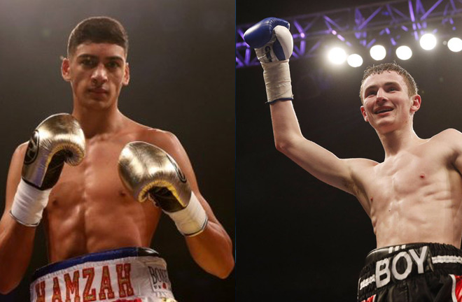 Hamzah Sheerah and Boy Jones Jr. both featured on the undercards and added to their career wins.
