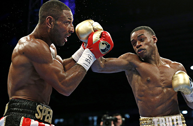 Brook last fight back in May against Spence Jr. Photo Credit: BoxingNews