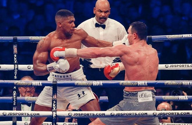 Joshua-Klitschko big showdown at Wembley in April last year. Photo Credit: The Mac Life