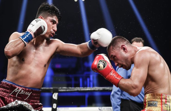 Garcia became a four-weight world champion with points win over Sergey Lipinets. Photo Credit: Sky Sports