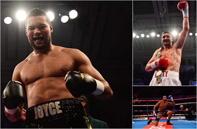 York Hall - Joe Joyce vs Donnie Palmer - March 17 2018 - Full Results