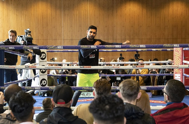 Amir Khan believes he is ready and will not make any mistakes come Saturday night. Photo Credit: Mark Robinson