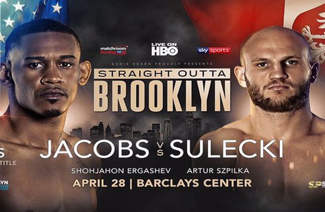Jacobs-Sulecki April 28th. Photo Credit: Bad Left Hook