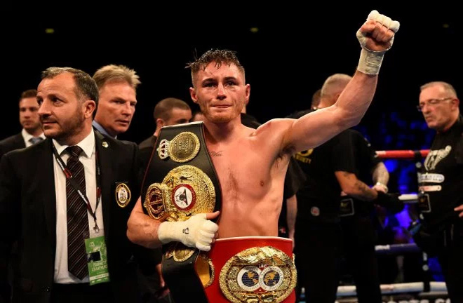 Ryan Burnett successfully defended his WBA title on Saturday night. Photo Credit: Metro