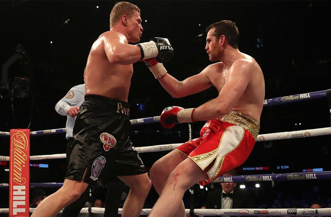 Povetkin producing a brutal knockout against Price. Photo Credit: Sportsnet