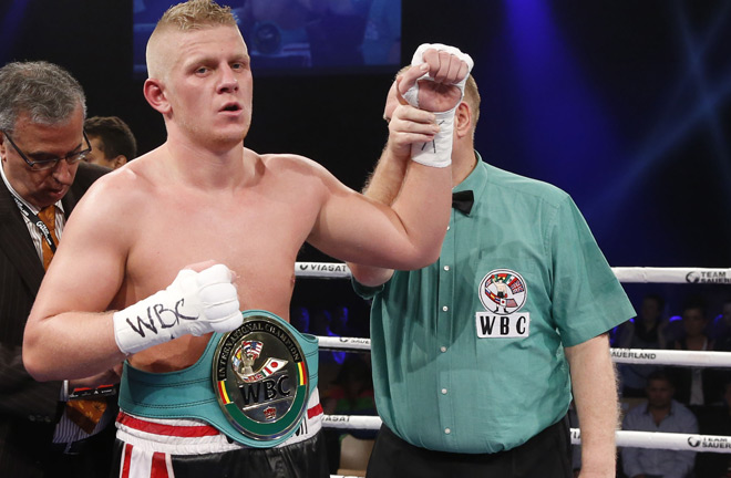 Nielsen challenges Mann for WBO Title. Photo Credit: The Boxing Voice