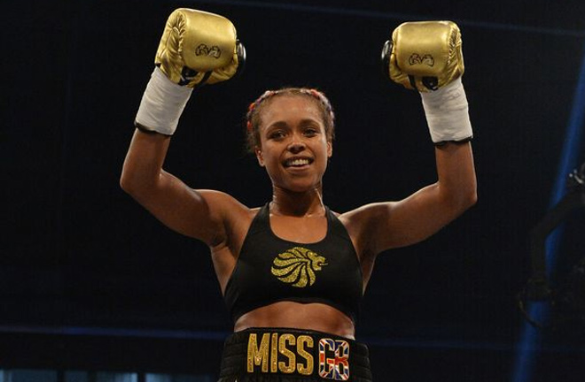 Natasha Jones can win her first professional Title this Saturday. Photo Credit: Liverpool Echo
