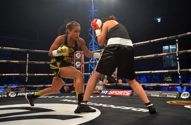 Natasha Jones feels she is ready to win her first Professional Title. Photo Credit: Liverpool Echo