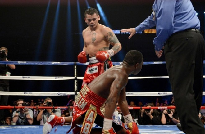 'The Problem,' humiliates Adrien Broner. Photo Credit: Round By Round Boxing