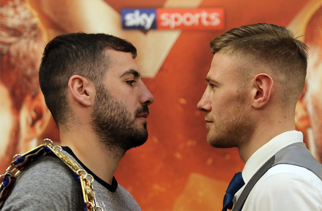 Ritson and Paul Hyland face of at today Press Conference. Photo Credit: Ian Horrocks