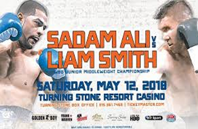 Sadam Ali to defend his WBO title against Liam Smith. Photo Credit: Boxing News