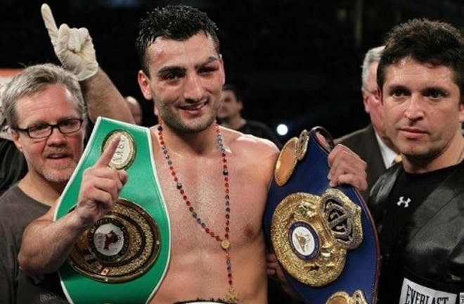 Vanes Martirosyan ready for the challenge of facing Golovkin. Photo Credit: MyBoxingFans