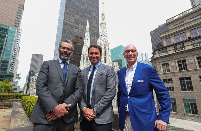 Denyer, Hearn and Skipper sign up Boxing's First Billion Dollar Deal