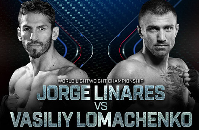 Lomachenko-Linares fight for the lightweight title this Saturday. Photo Credit: Madison Square Garden