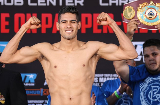 Super middleweight world champion Gilberto 'Zurdo' Ramirez will make the fourth defence of his WBO belt. Photo Credit: Boxing Scene