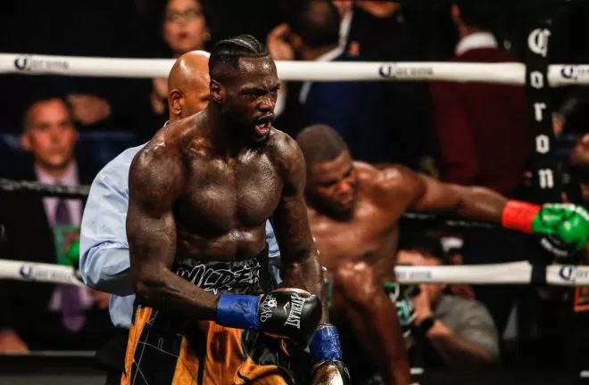Wilder: The fight with Joshua will happen. Photo Credit: Metro
