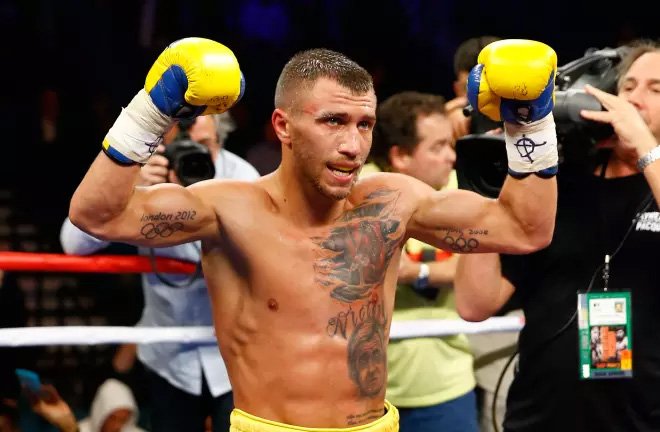 Lomachenko: I accepted this challenge in less than 2 seconds. Photo Credit: The Shadow League