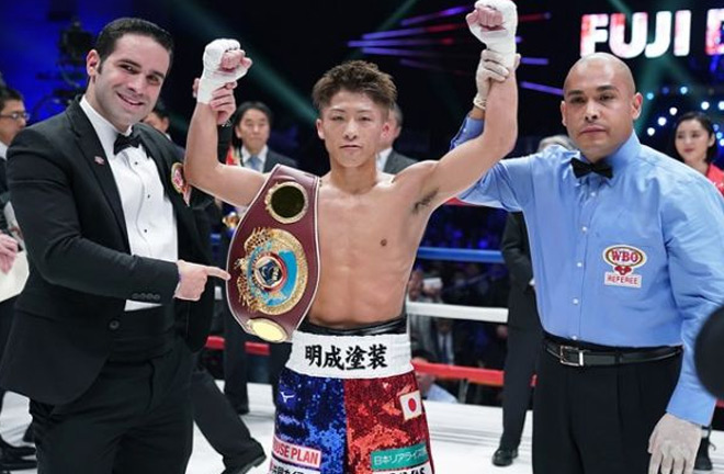 Naoya Inoue looking to destroy McDonnell on Friday. Photo Credit: The Sweet Science