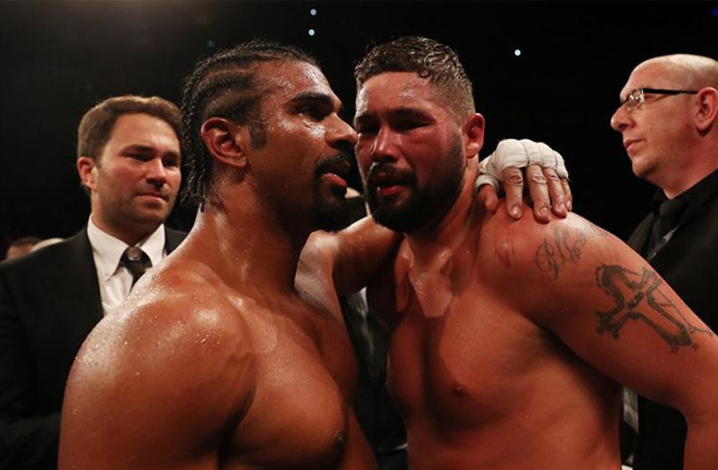What is next for Bellew after defeating Haye. Photo Credit: Links Hospitality