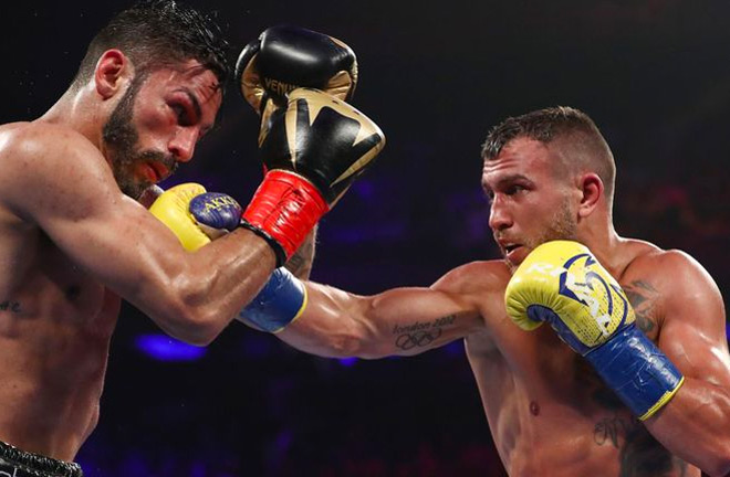 Vasyl Lomachenko defeated Jorge Linares at Madison Square Garden in New York City.