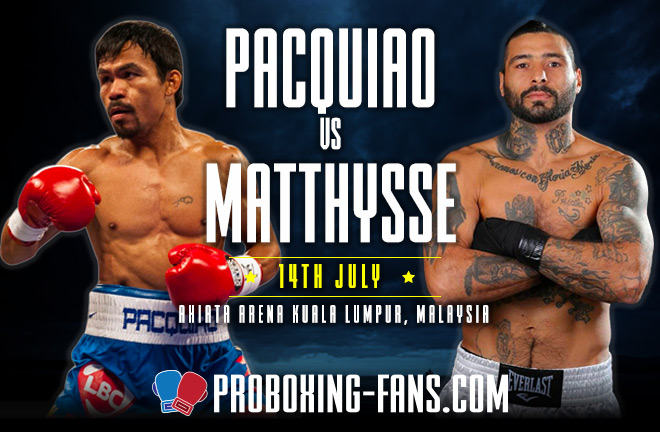 Manny Pacquiao v Lucas Matthysse fight preview & prediction