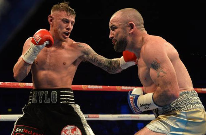 Paul Hyland Jnr is aiming to seal a hat-trick. Photo Credit: Belfast Telegraph