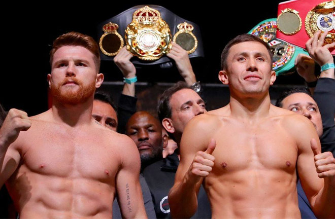 Canelo and Golovkin, trilogy? Photo Credit: Fight Sports