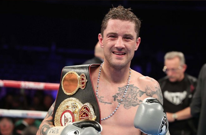 Ricky Burns laces them up for the 50th time on Saturday night at the Metro Radio Arena in Newcastle, live on Sky Sports. Photo Credit: Sky Sports
